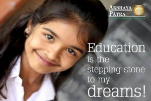 Helping Hands with Akshaya Patra