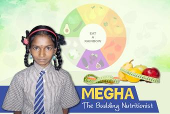 Megha wants to consider a career in Nutrition